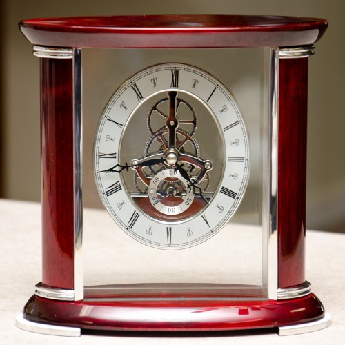 BeyBerk_Rosewood Desk Clock_House of Clock_01