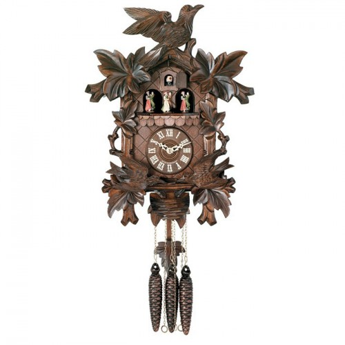 Photo of a black forest cuckoo clock