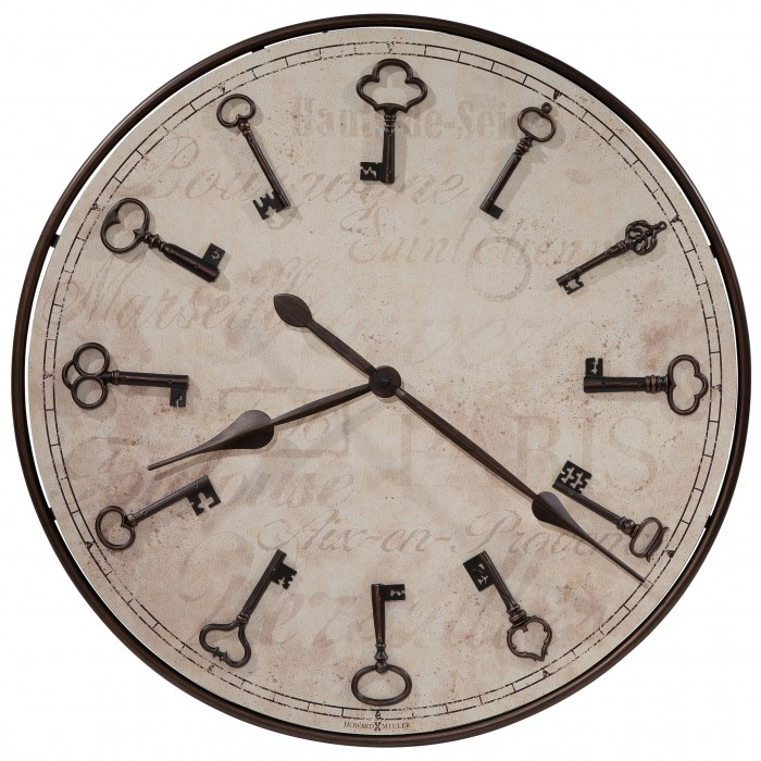 625579 Cle Du Ville Howard Miller Oversized Wall Clock House of Clocks Morgantown Indiana