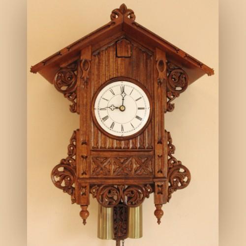 NC-3406 Beha Bahnhausle Cuckoo Clock Morganown Indiana 01