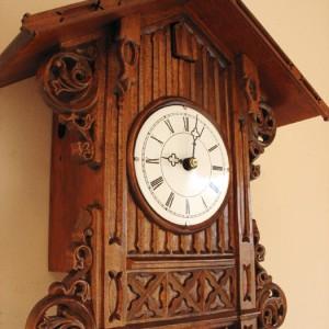 NC-3406 Beha Bahnhausle Cuckoo Clock Morganown Indiana 02