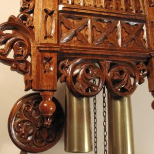 NC-3406 Beha Bahnhausle Cuckoo Clock Morganown Indiana 03